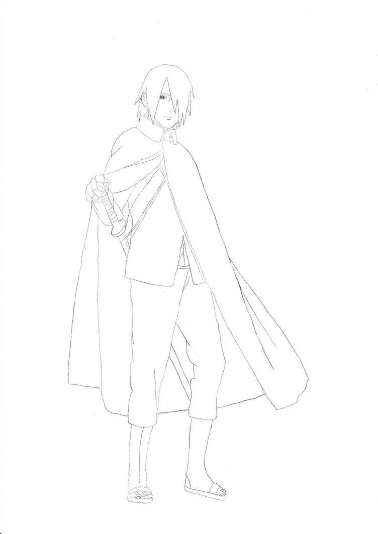 Full Body Sasuke Drawing : sasuke, drawing, Sasuke, Boruto, Movie, Rosolinio, Body,, Sasuke,