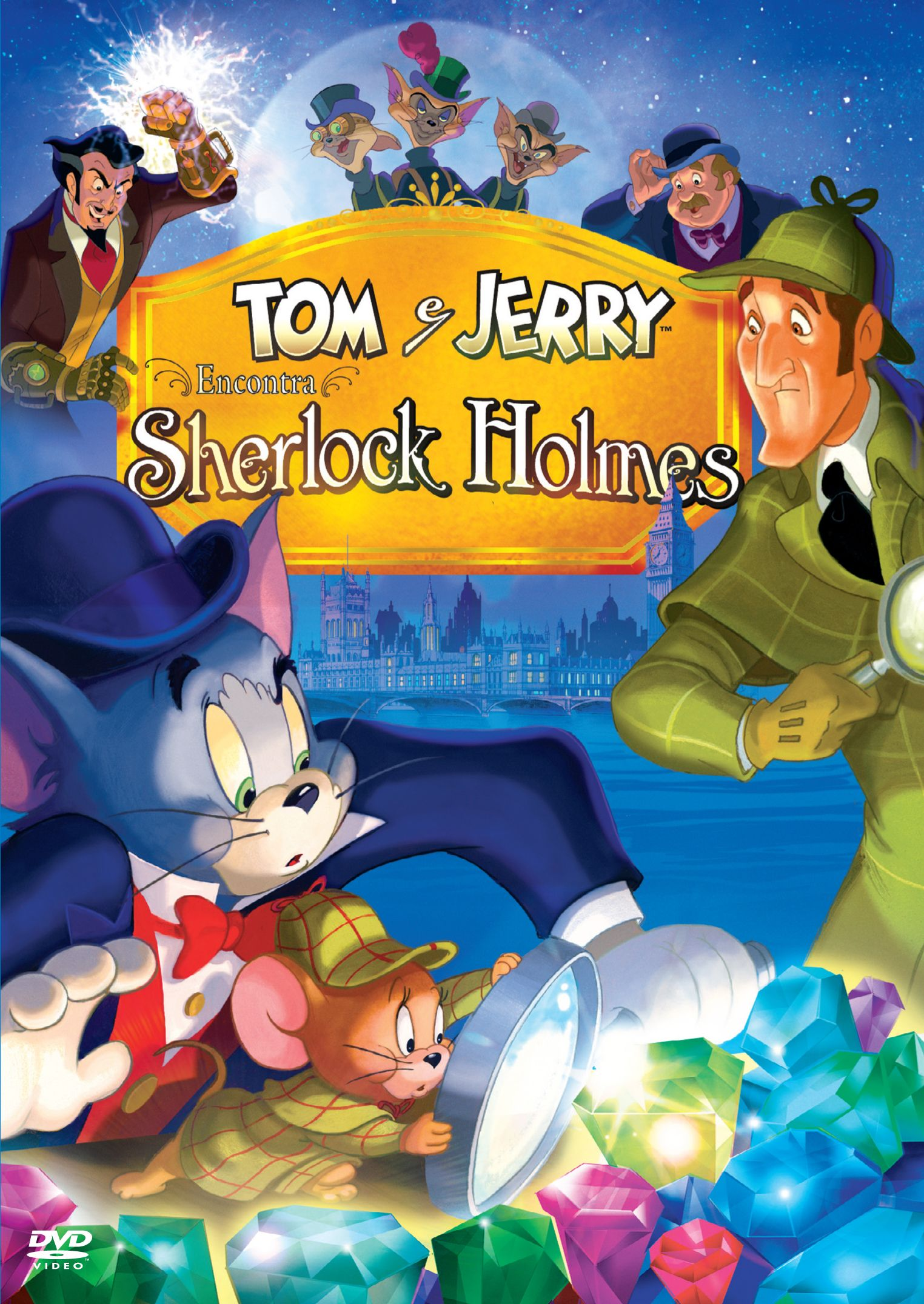tom and jerry meet sherlock holmes online book