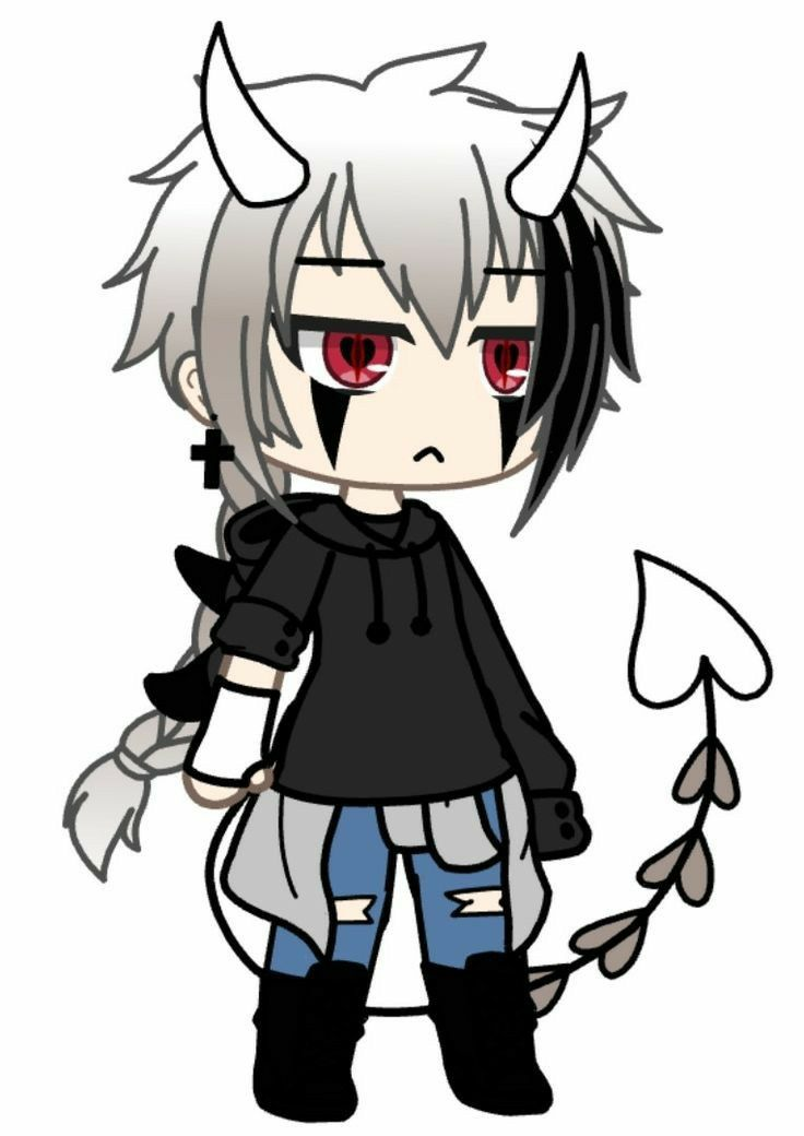 Pin By P On Poze Cu Gacha Life Cute Anime Chibi Cute Anime Character Anime Outfits