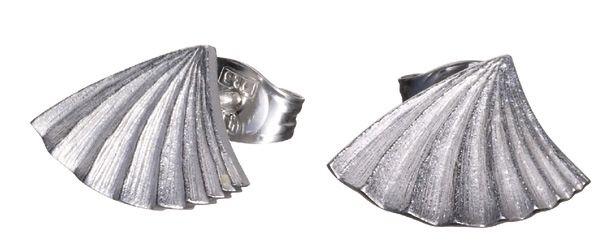 Kalevala Koru Plisé - hopeakorvakorut