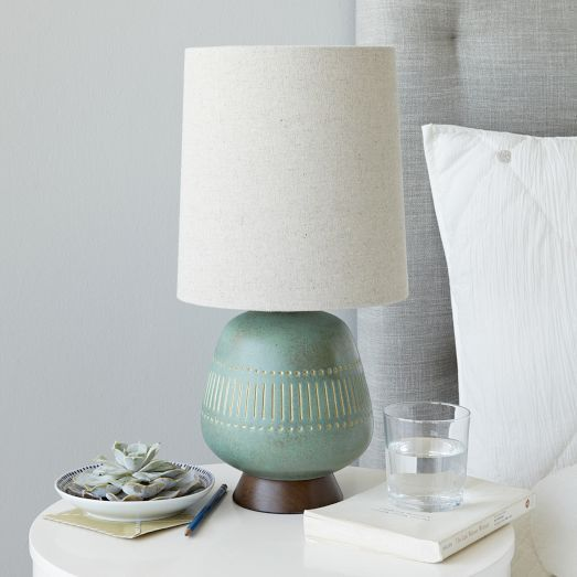 Mid century table lamp jar west elm dads place pinterest mid century table lamp jar west elm aloadofball Image collections