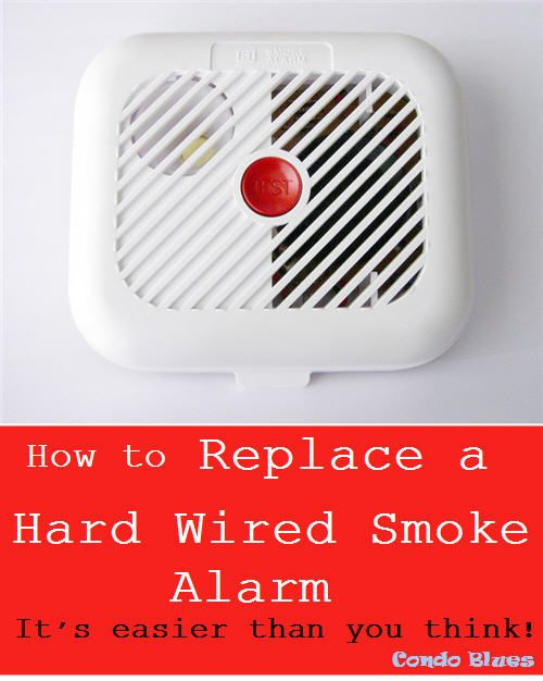 How To Replace A Beeping Hardwired Smoke Detector Smoke Alarms