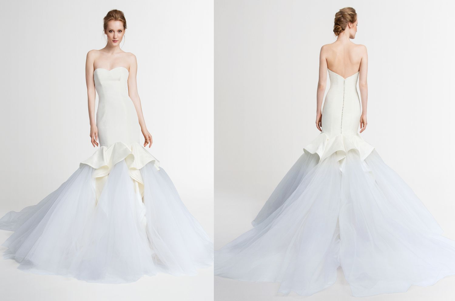 Neela By Kelly Faetanini Spring 2015: Fit To Flare Mikado