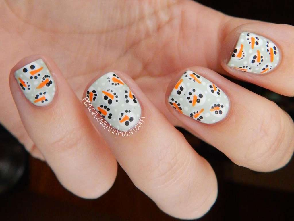 Lots of Frosty! | | FANCY NAIL ART | | Pinterest | Fancy nail art