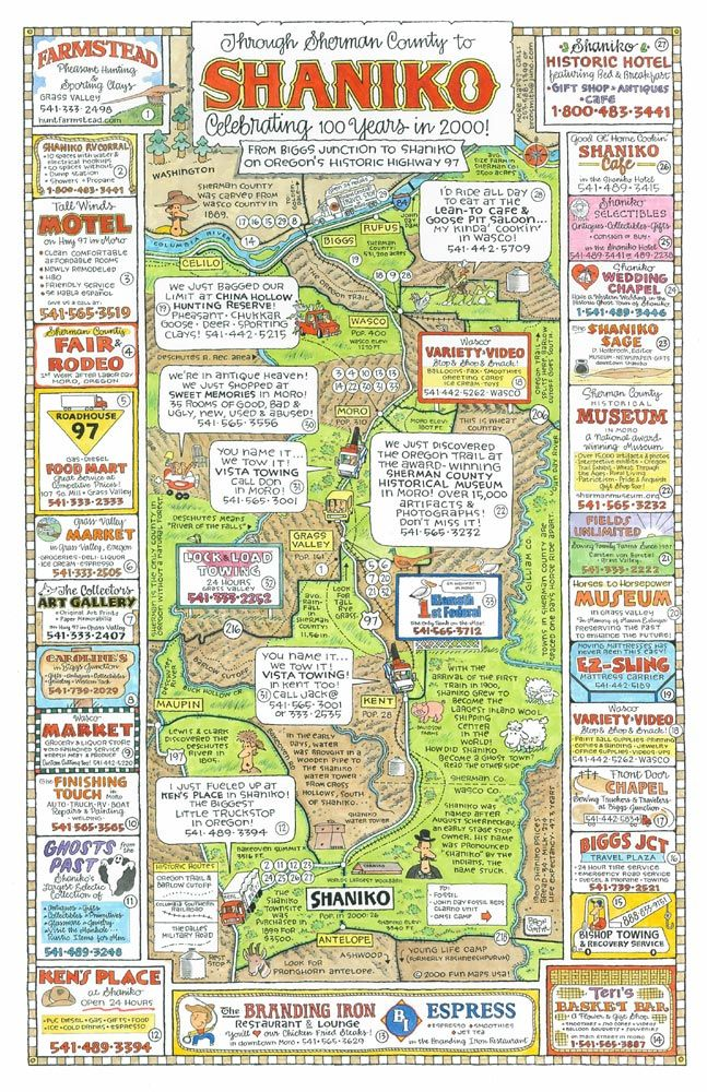 Shaniko Oregon Map Shaniko, Oregon | Travel/Road Trip | Oregon coast, Oregon