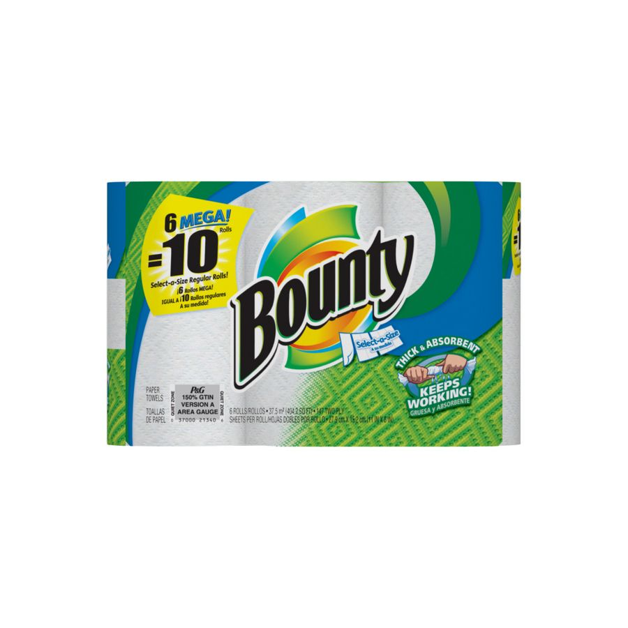 Bounty Paper Towels Fall Prints: Bounty Select A Size Paper Towels