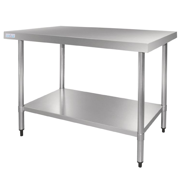 Vogue Stainless Steel Prep Table 1200mm - GJ502