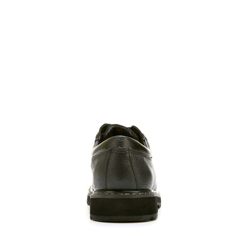 5d08533ade3 Dr. Scholl s Work Men s TX Harrington Slip Resistant Work Oxford Shoes  (Black) - 6.5 M
