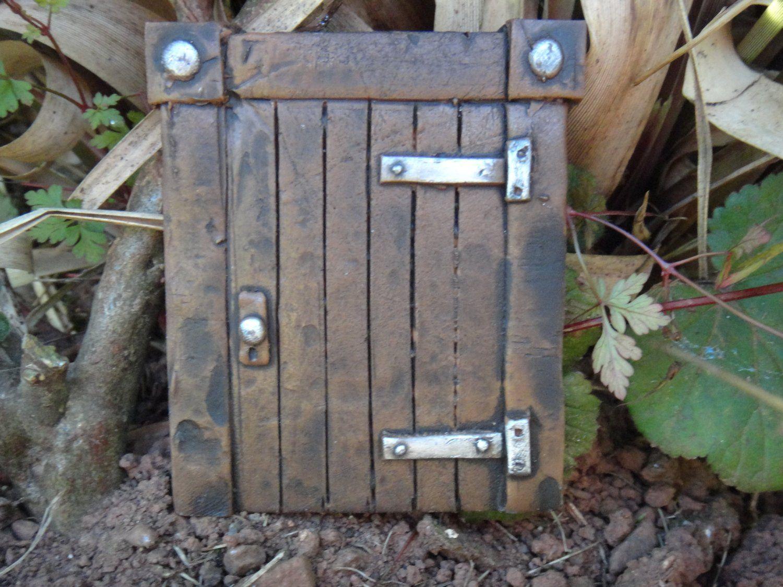 Hobbit Tür (magisches Tor) Ideal Für Garten Und Bäume - Garten ... Gartendeko Selber Machen Gnom Fee Tuer Baum Gestaltung