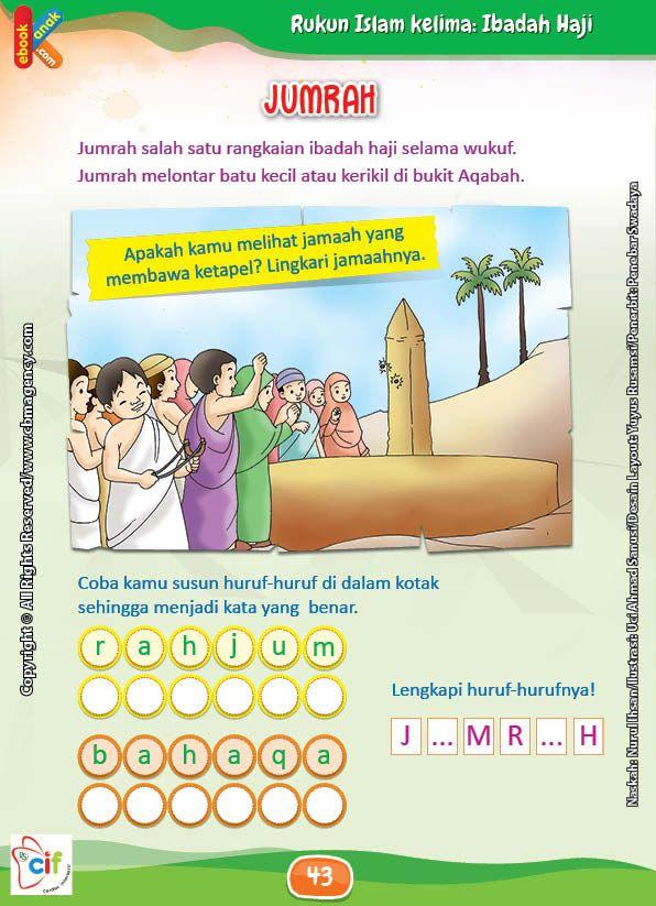 Bagaimana Cara Melakukan Jumrah Dalam Ibadah Haji Buku Kelas Tk Buku Anak