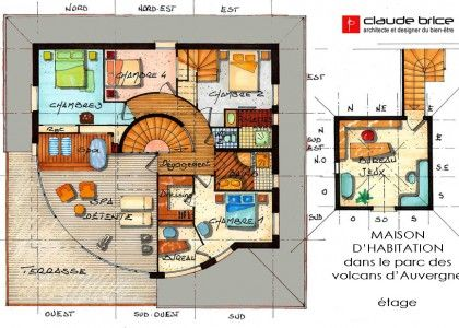 Merveilleux Plan De Maison Feng Shui Gratuit Idees Etonnantes
