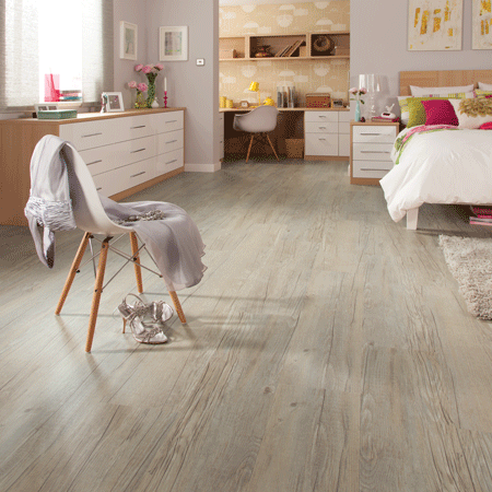 Karndean Loose Lay Country Oak In The Bedroom Supplied By Evolved Luxury Floors Gold