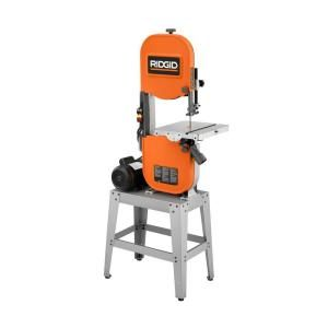 Ridgid 15 Amp Band Saw With Stand Discontinued Bs1400 At The Home Depot Woodworking Basics Woodworking Lamp Woodworking Wood