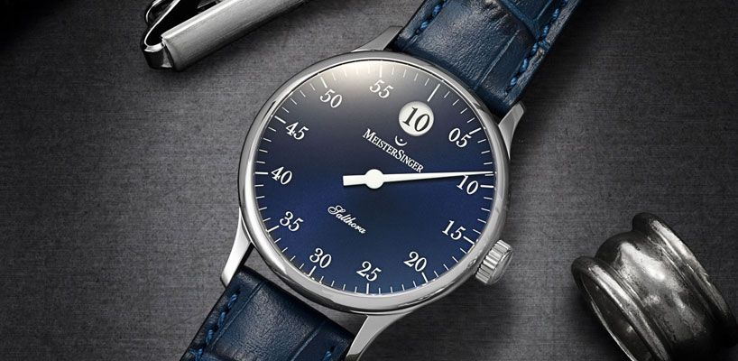 đồng hồ 1 kim Meistersinger Salthora