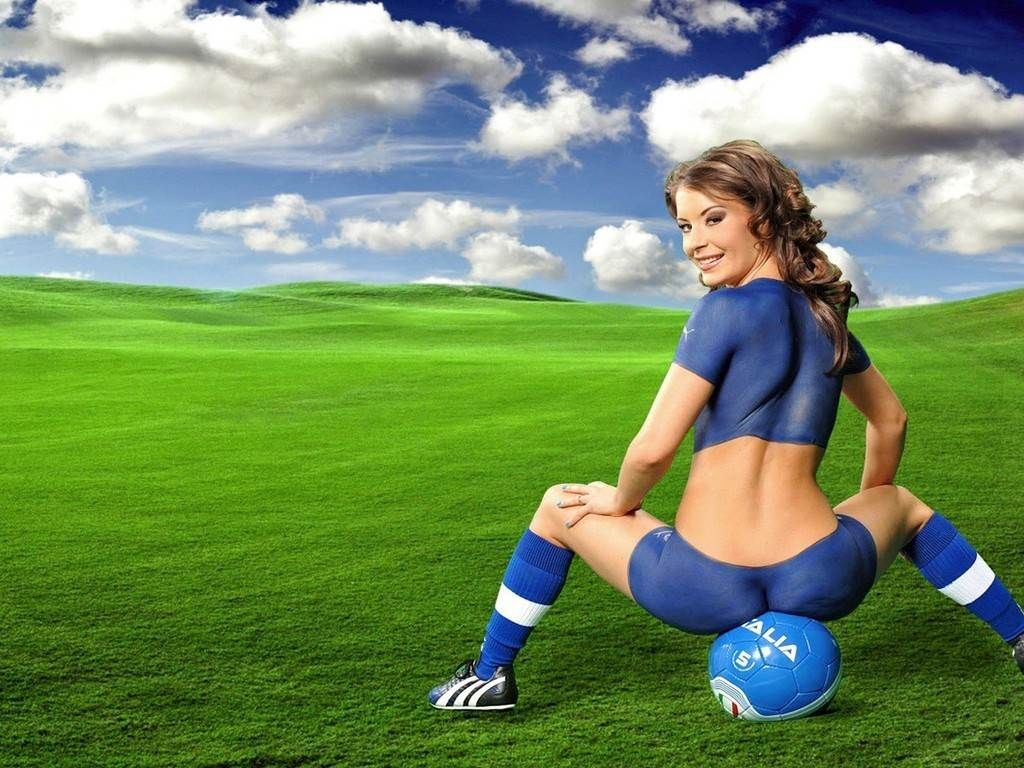 wallpapers of girl football - photo #26