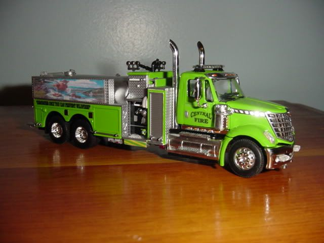 Custom Toy Semi Trucks : Custom scale model pinterest fire