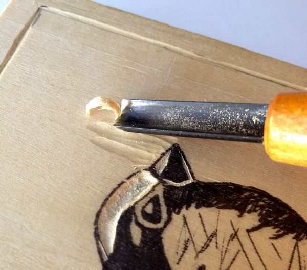 Excellent woodblock carving tutorial step-by-step. Birch, pine, poplar are best