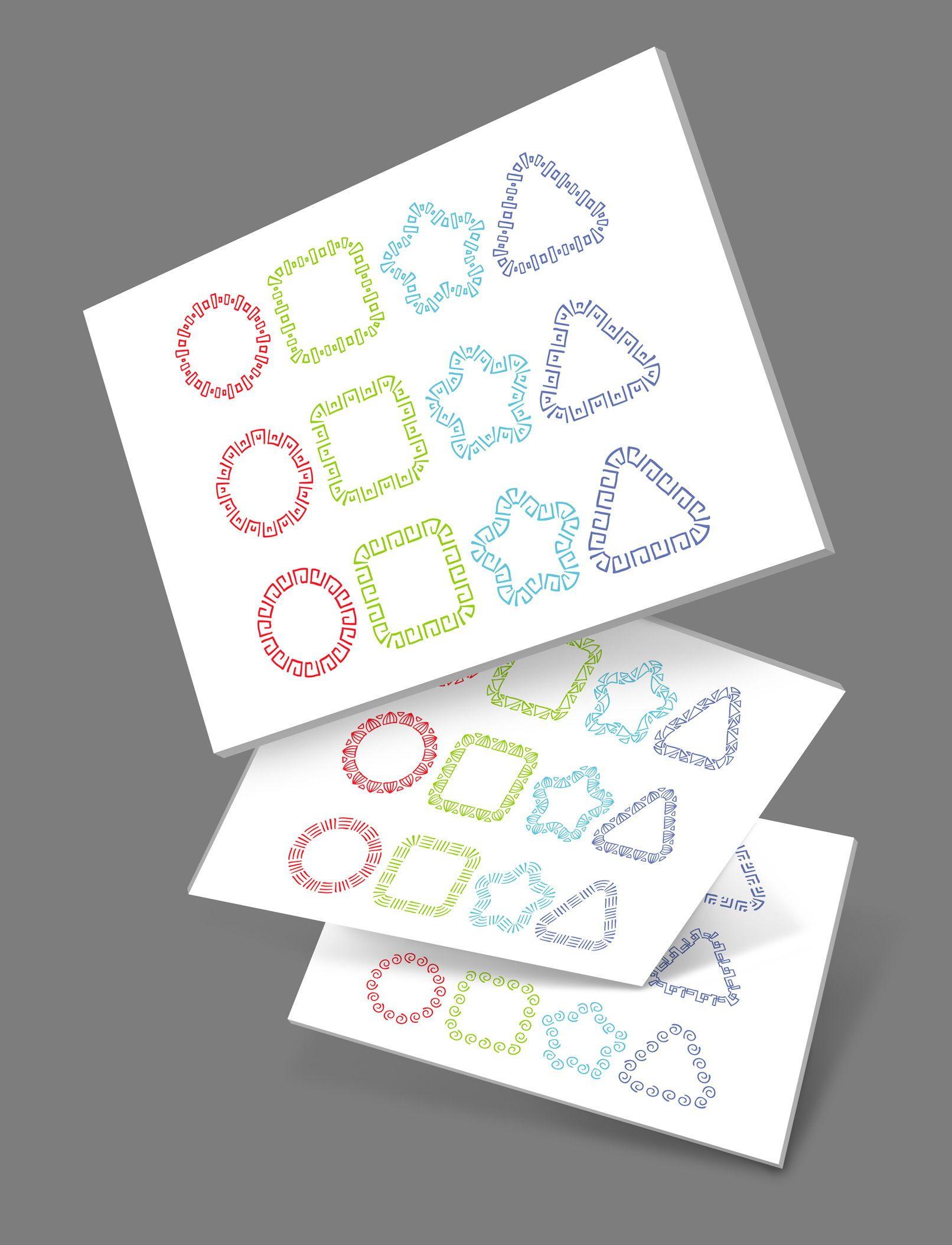 50 brushes fur adobe illustrator schmuckvolle ornamente vektorgrafik erstellen lkw vektor spreadshirt