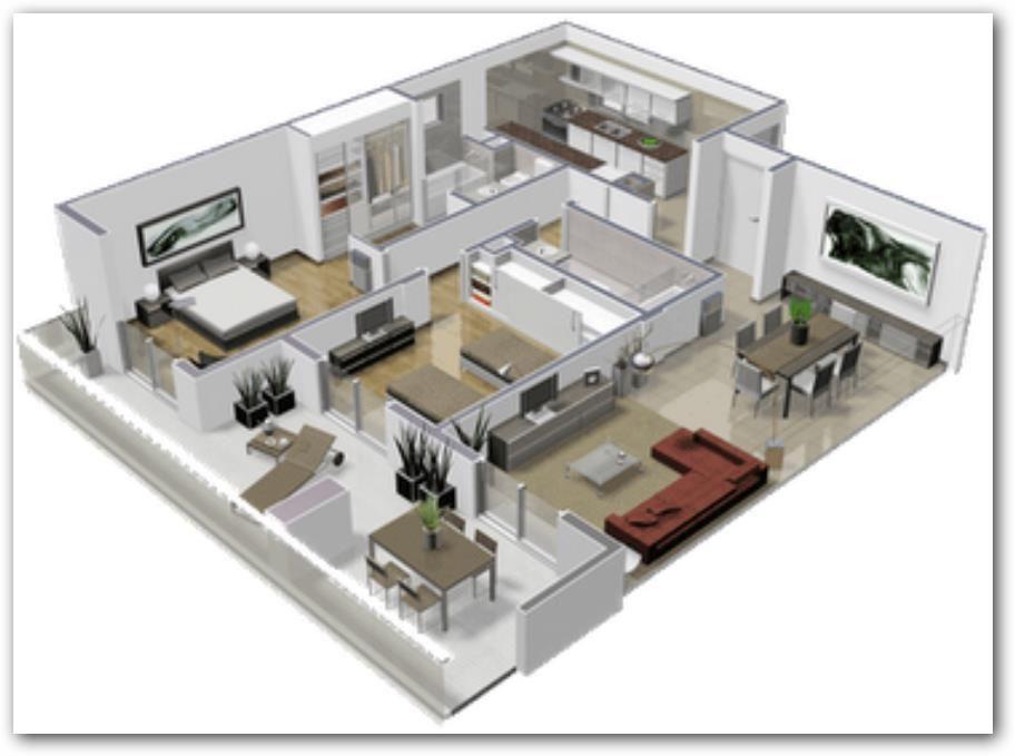 Departamento 2 dormitorios muy moderno casa casas for Casa moderna 140 m2