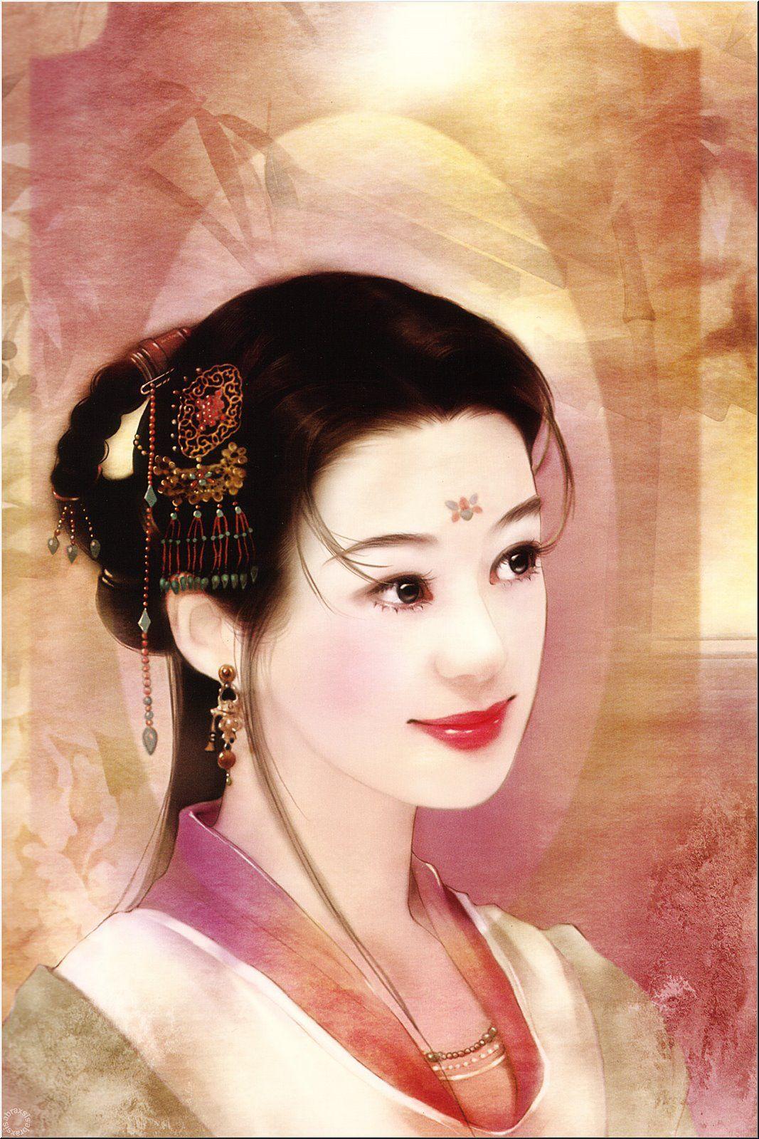 Varieté de Láminas para Decoupage: Geishas...