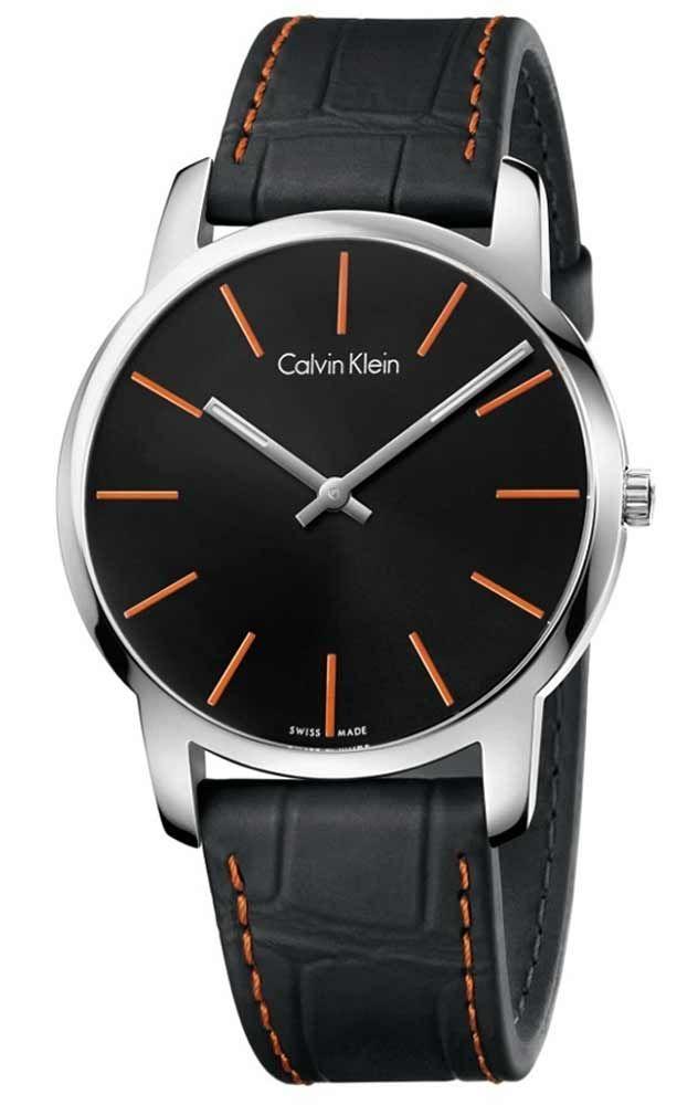 Reloj Calvin Klein Hombre K2g211c1 City Reloj De Hombre Relojes De Cuero Para Hombres Accesorios Para Hombre