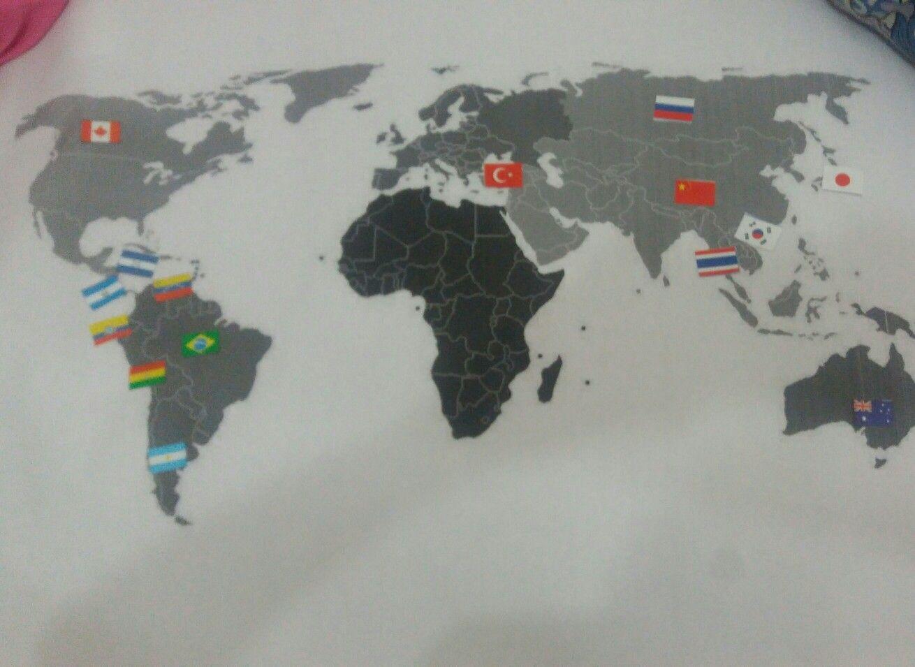 Mapa escolar actividad para niños