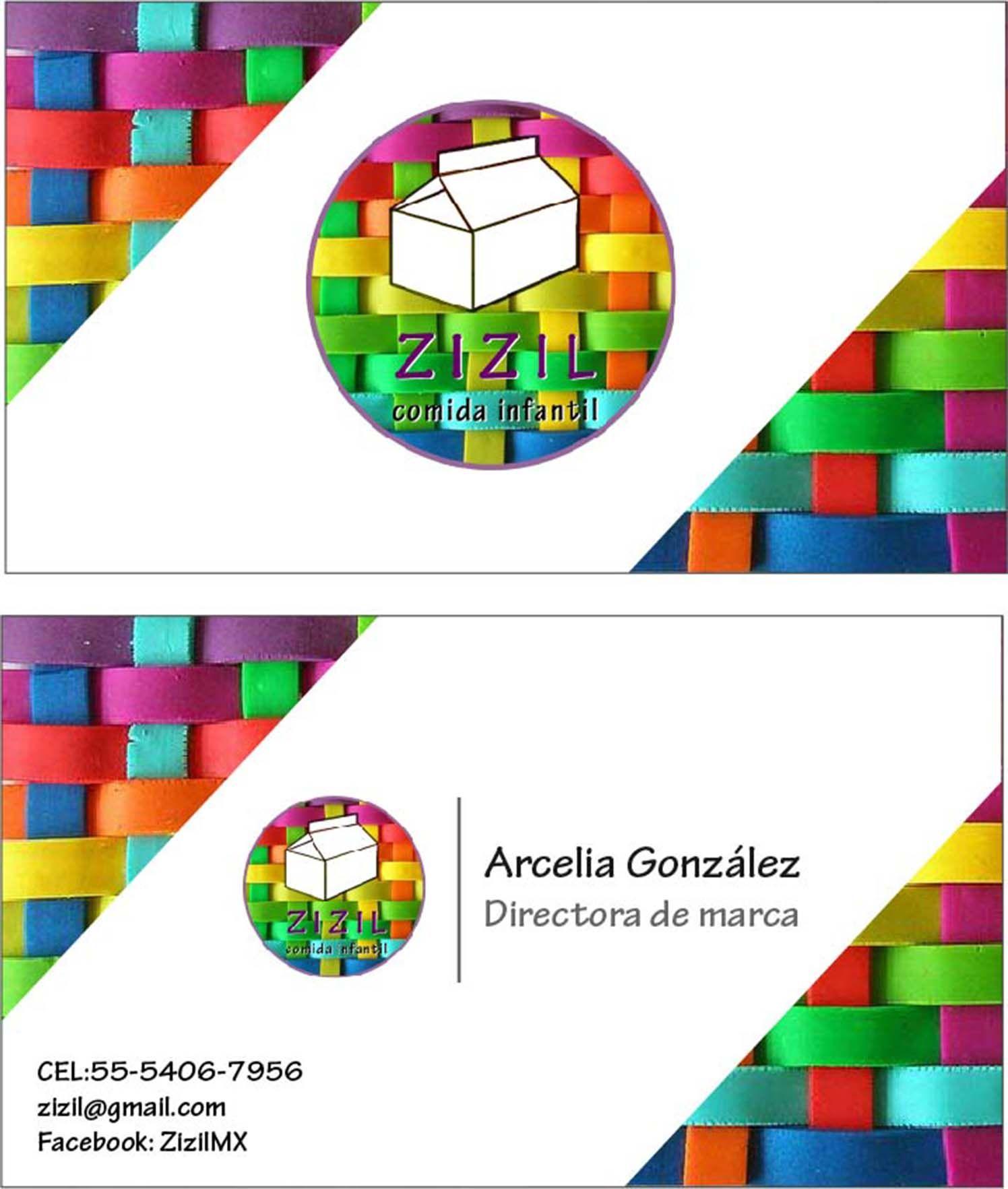 tarjeta de presentación opción 1