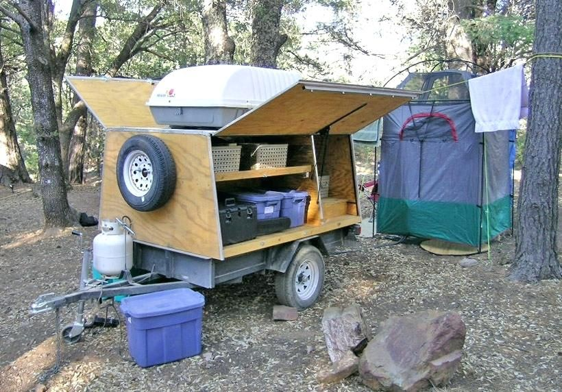 Diy Camping Gear Trailer Diy Projects Camping