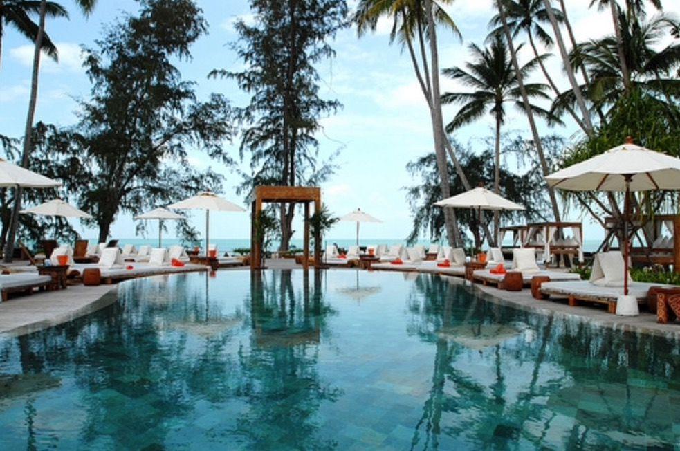 Nikki Beach Pool Koh Samui Thailand