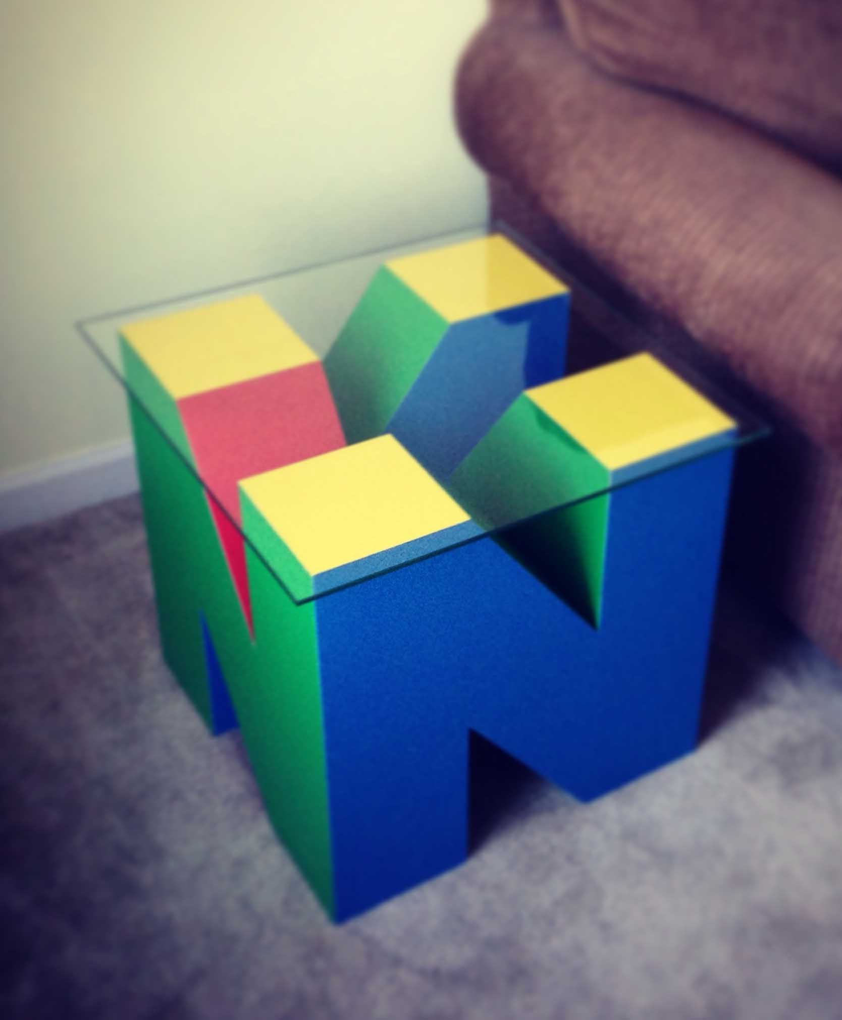 Nintendo 64 Table … Cool Stuff Pinterest