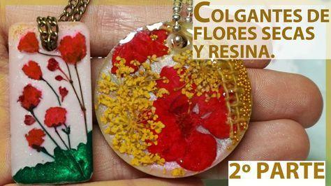 Encapsulado de flores secas en resina Ideas y sueños Pinterest - flores secas