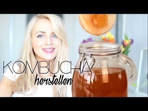 Kombucha selber machen – Schritt für Schritt Anleitung probiotischer Teepilz // How to make Kombucha