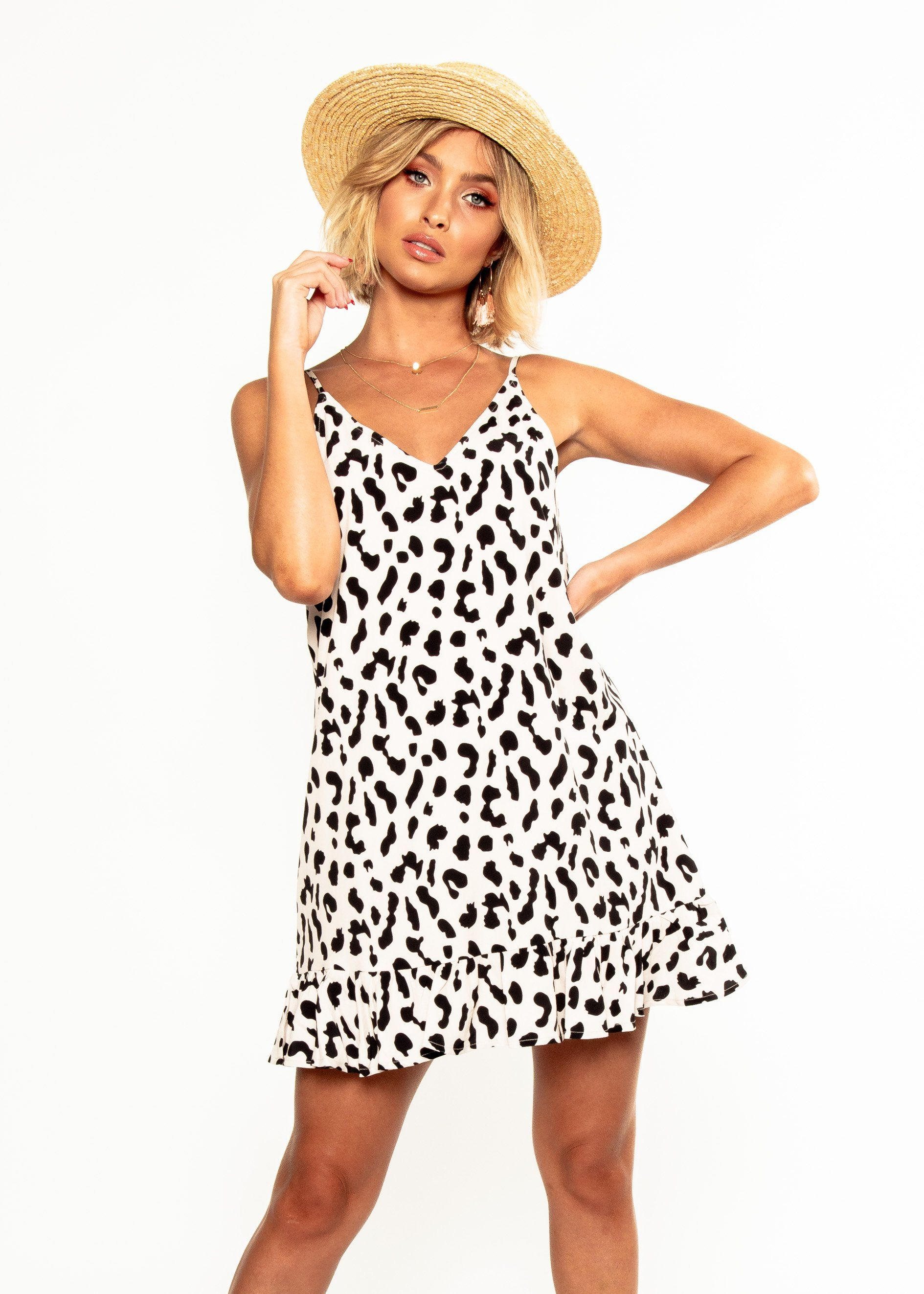 33af3125e34f Caterina Swing Dress - Blush Leopard in 2019