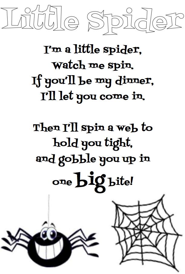 Image result for spider poem school october spiders pinterest image result for spider poem ccuart Choice Image