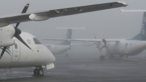 Flights Resume At Nelson Airport After Heavy Fog The