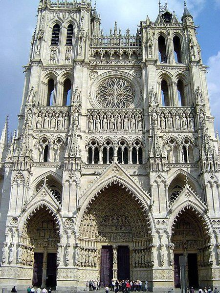 Cathedrale Notre Dame Amiens Amiens Cathedral Church Architecture