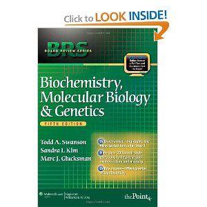 Brs Biochemistry Molecular Biology And Genetics Fifth Edition