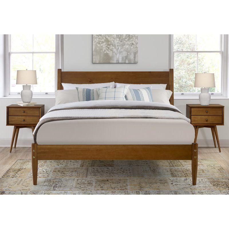 Gold Glass Dining Table, Gordon Mid Century Platform Bed Reviews Allmodern Modern Bedroom Mid Century Modern Bedroom Mid Century Platform Beds