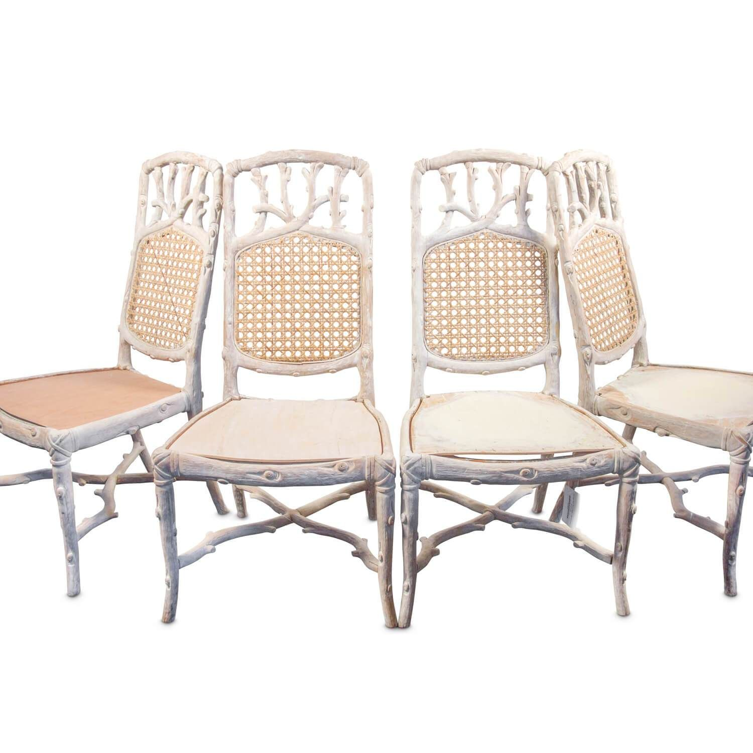 Vintage Faux Bois Chairs Set Of Four Products Pinterest Faux Bois And Products