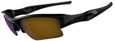 0a9acfa53db Oakley Flak Jacket XLJ Sunglasses Fishing Specific with Jet Black Frame and Shallow  Blue Polarized Lens