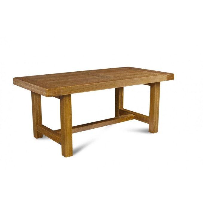 Table De Ferme Campagnarde Bois Chene Massif Table De Ferme Chene Massif Meuble Bois Massif