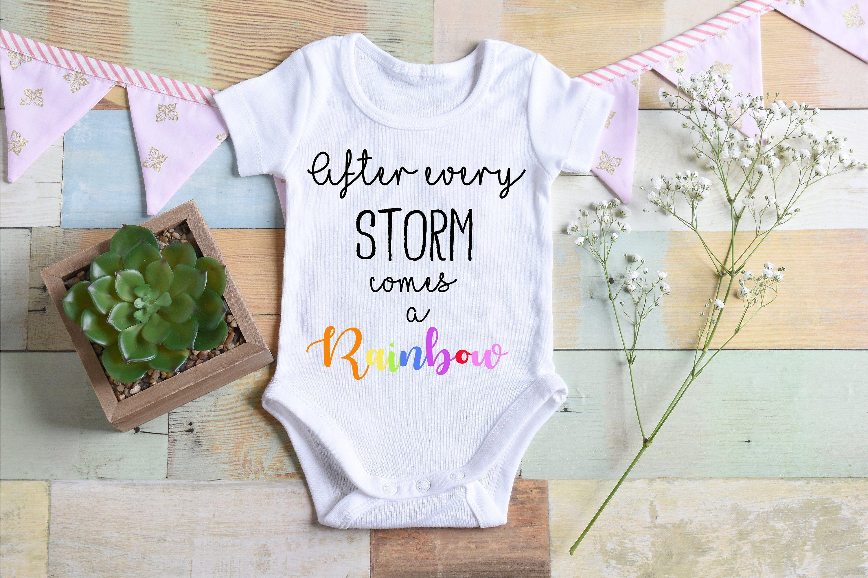 CUSTOMIZABLE Rainbow Baby Worth the Wait Onesie