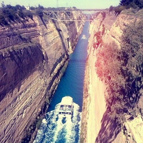at the Corinth Canal