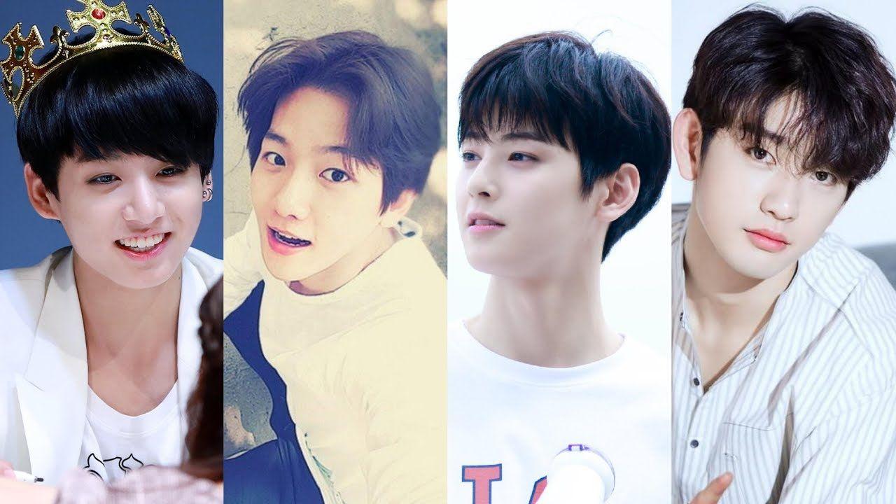 Top 10 Most Naturally Beautiful Male Idols According To Insight Korea Naturally Beautiful Beautiful Idol