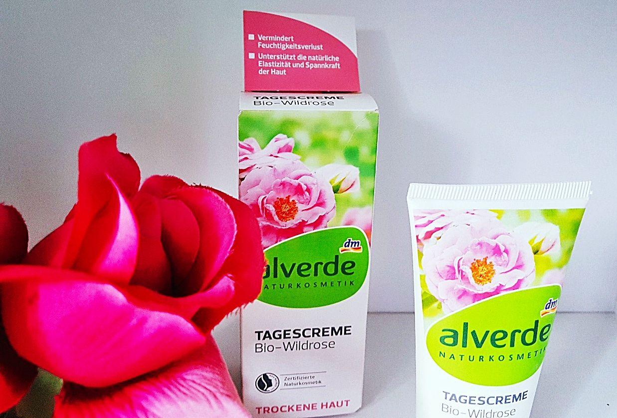 Alverde Tagescreme Bio-Wildrose