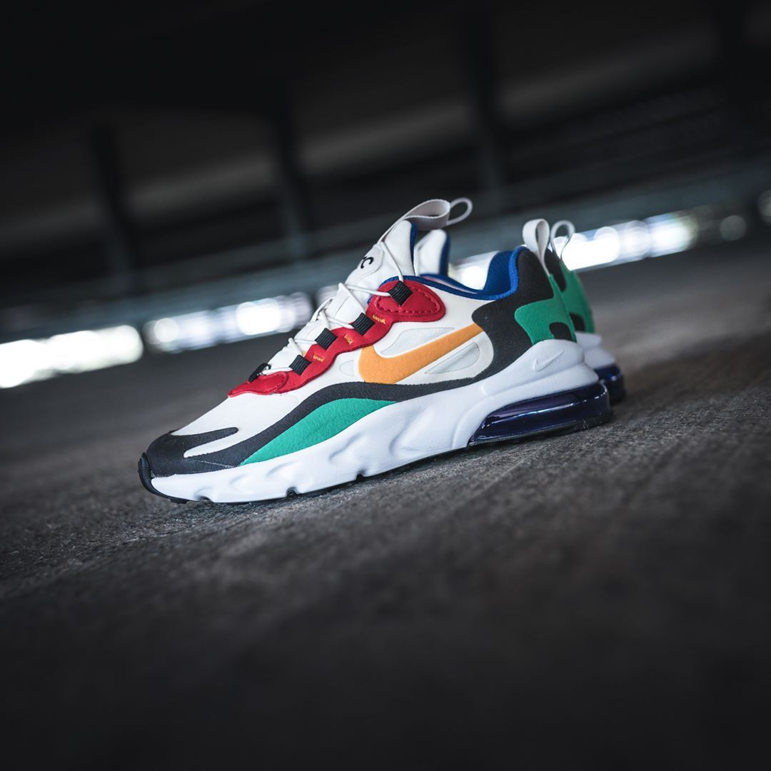 Nike Air Max 270 React in bunt AO4971 002 in 2020 | Männer