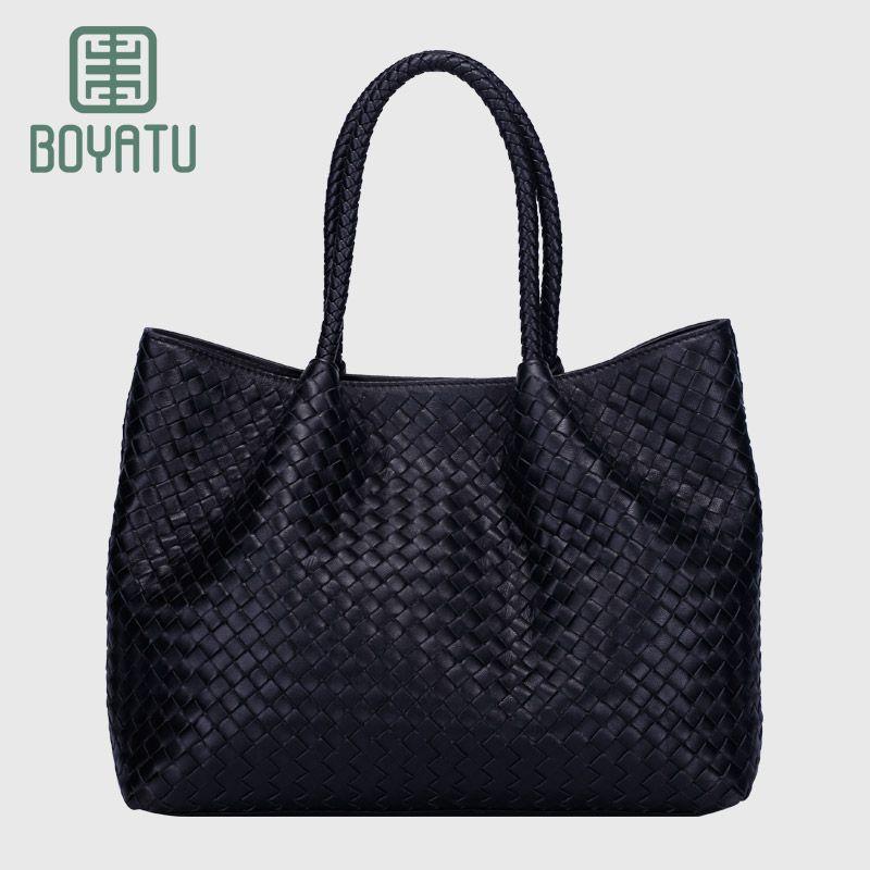 84600a830ff6 Boyatu barand Genuine Sheepskin Leather hand made Large Handbag ...