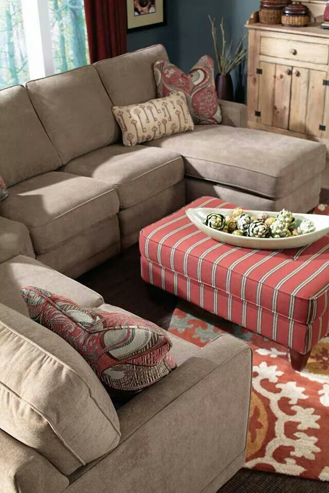 Lazy Boy (With images) | Leather sectional sofa, Sectional ...