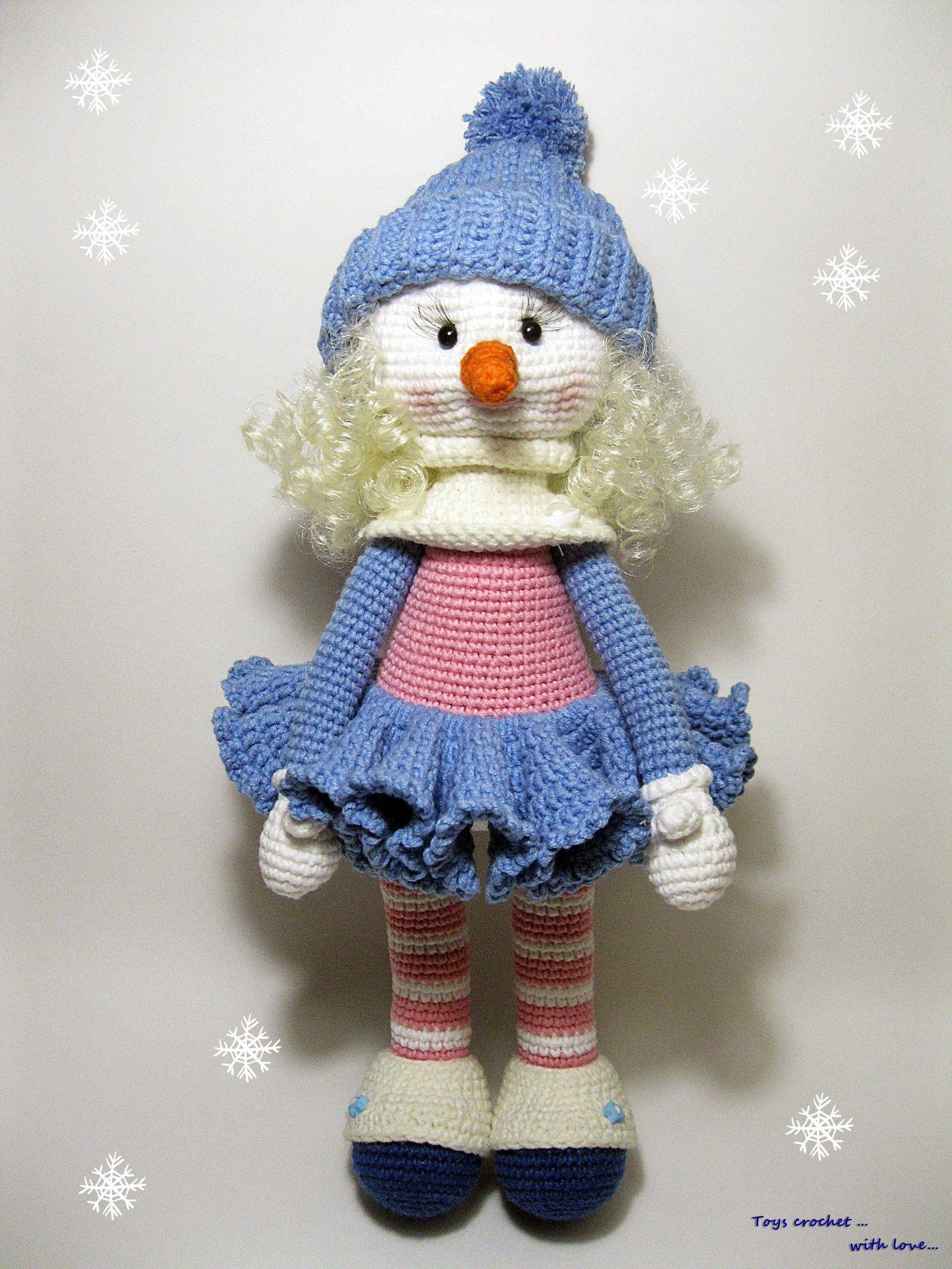 Toys crochet. With love... Мастерская игрушек | VK | Crochet Dolls ...