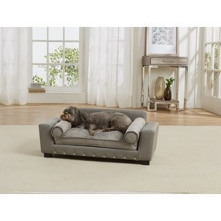 Enchanted Home Pet Ultra Plush Cliff Furniture Pet Bed By Enchanted Home Pet
